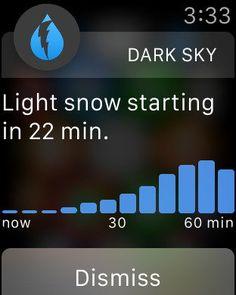 Dark Sky Apple Watch App