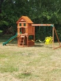 Backyard Discovery Shenandoah Wooden Swing Set View Number 3
