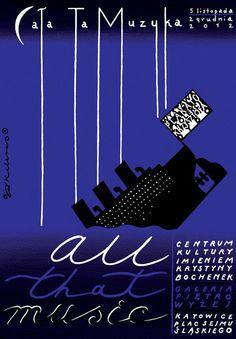 Roman Kalarus All That Music, Polish Poster
