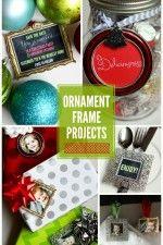Ornament Frame Gift Ideas on { lilluna.com }