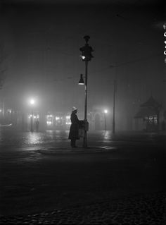Sinais luminosos de trânsito, Lisboa (F. da Cunha, 1930)