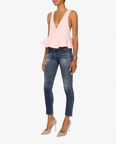 Alexis Sawyer Deep V  Top from @intermix