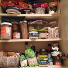 I'm pinning it to win it - one of my own pics. My store cupboard never looked so good until No Sugar Foods, Bathroom Medicine Cabinet, Cupboard, Store, Clothes Stand, Armoire, Crockery Cabinet, Larger, China Cabinets