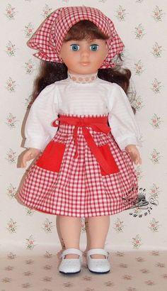 Vêtement pour poupée Modes et Travaux Marie Françoise ou Françoise Février 1979