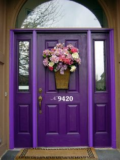 Front Door Number Decal • Street Number on your Front Door, House Address Number Door Decal, Mailbox Address