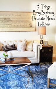 5 Things every beginner decorator needs to know