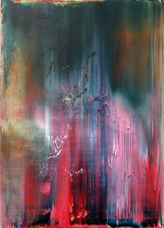 m17-lpunzalan:    Philipp Karcher - #467:   Technical Study Like Gerhard Richter (2012)  - Acrylic on canvas