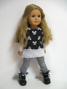 American girl doll clothes    Racoons by 123MULBERRYSTREET on Etsy