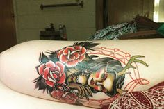 Tatuajes para Mujeres en la Pierna ¡10 Grandiosas Ideas! Tattoos, Ideas, Fashion Trends, Blue Prints, Tatuajes, Tattoo, Thoughts, Tattos, Tattoo Designs