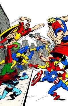 Vingadores vs Esquadrão Supremo