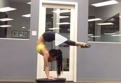 Watch powerful contortionist Samantha Hall pull off some jaw-dropping twists and handstands. #fitness #motivation http://greatist.com/move/acrobat-samantha-hall-shows-off-impressive-moves