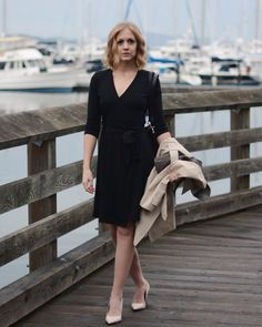 If you're looking for a little black dress, look no further because this one rocks and it's Merino Wool (yes, again).