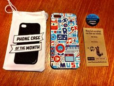 November Phone Case of the Month Review + Giveaway - http://mommysplurge.com/subscription-box-review/november-phone-case-month-review-giveaway/ #pcotm