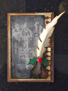 Canadian Nickel Scrap'n: Chalk Art Christmas Cards