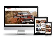 Autodealer - Car Dealer Drupal Theme by Ordasoft  on @creativemarket