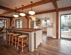 Main Street Farmhouse Kitchen Island 2