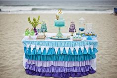 Hostess with the Mostess® - Ombre Mermaid Party