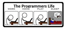 Programmer Life. Please do not be like this folks!