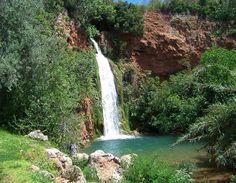 Cascata de água da Ribeira de Alte - Queda do Vigário Vila de Alte, Loulé