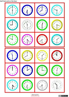 First Grade Reading Comprehension, Picture Comprehension, 2nd Grade Math Worksheets, Bingo, Teaching Time, Preschool Curriculum, Math For Kids, Home Schooling, Math Classroom