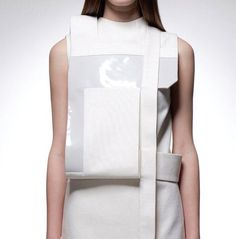 There's something about this that I adore #TopshopPromQueen fashion future fabric manipulation modern minimal