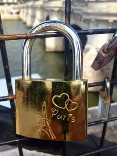 Get lock engraved of our initials and our wedding anniversary for the honeymoon