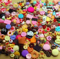 50 PCS Mixed Cabochons Sweets Decoden Kit mix Food Cabochon flat back Embellishments resin Assorted Miniature Cabochon (Food Serious) AK.SW on Etsy, $14.99