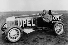 March 15: Opel built the first rocket-powered car on this date in 1928