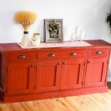 Directions to build this sideboard, as well as tons of other awesome DIY furniture