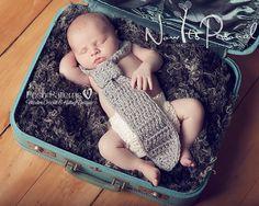 Crochet PATTERN  Baby Necktie Little Man Crochet by PoshPatterns, $3.99