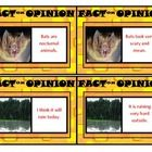 Looking for an exciting game for your students to improve their fact and opinion skills? These activity cards will do just that!   Great for indi...
