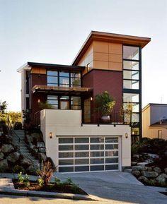 Contemporary Home Exterior Design Ideas | Simple house design ...
