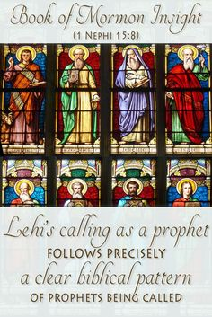 Research has shown a clear pattern when God calls his prophets in the Bible. This pattern is the same for Lehi in the Book of Mormon. Read how they relate at http://www.knowhy.bookofmormoncentral.org/content/how-did-god-call-his-prophets-ancient-times  #prophets #bookofmormon #bible #mormon #lds #prophet #oldtestament