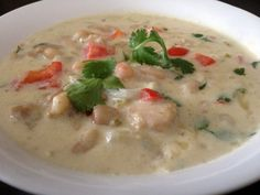 white chicken chili from plater talk