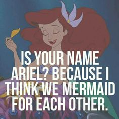 How to win me over... Use Disney pick up lines!