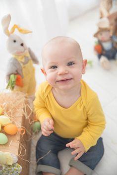 Mini ensaio de Páscoa, Fotografia de bebe, ensaio temáticos, ensaio de Páscoa…