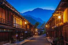 Photograph The old rows of houses and stores on a street-3 by jun-ichiro taguchi on 500px