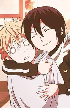 Noragami Yukinecuando quieres mucho a alguien