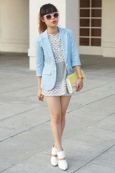 Toshiko Shek - blue - wear - http://communiday.com/wear/toshiko-shek/