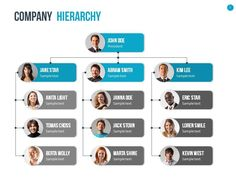 organizational chart and hierarchy template development solutions