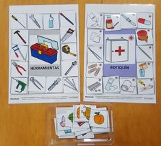 Materiales CAA – Semántica – Aula abierta de ARASAAC