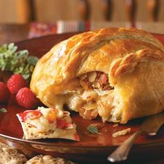 Brie Puff Pastry Appetizer Recipes from Taste of Home, including Fruit 'n' Almond Brie Recipe