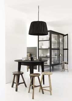 A lot of gorgeous black, white and naturals in the new Autumn/Winter collection of Danish brand Tine K Home.