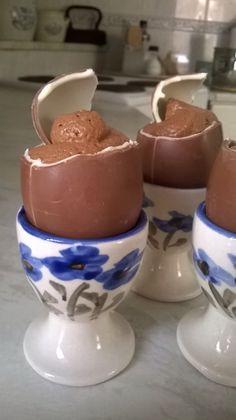 Kokkeillaan: Pääsiäisen suklaamoussetarjoilu #suklaa