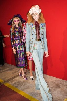See beauty photos for Gucci Spring 2017 Ready-to-Wear collection.