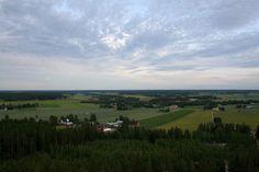 Luovan näkötornista avautuvat hienot näkymät yli Pohjanmaan lakeuksien. Finland Travel, Golf Courses, Travel Tips, Outdoor, Outdoors, Travel Advice, Outdoor Games, Outdoor Living