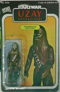 Turkish Star Wars figures.  Awful/Hilarious.