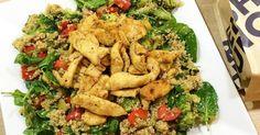 Warmer Quinoa-Salat