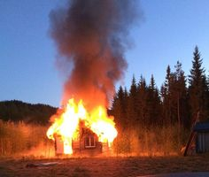 Get the story behind a unique fire sound library - captured in the Swedish wilderness: