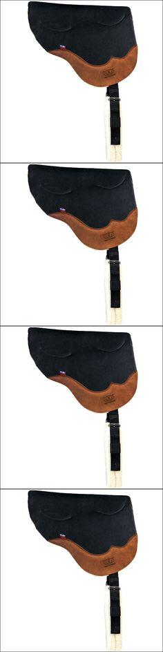 Saddle Pads 183377: Weaver Black Stacy Westfall Gel Ultrasuede Bareback Horse Saddle Pad -> BUY IT NOW ONLY: $163.95 on eBay!